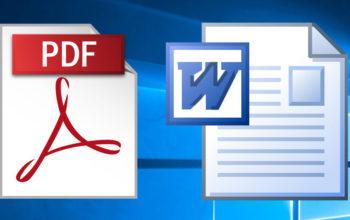 چگونه فایلهای PDF را به WORD تبدیل کنیم؟