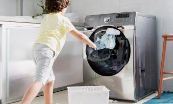 برنامههای شستشو در لباسشوییهای «اَدواش» سامسونگ