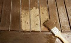 چطور با قهوه چوب را رنگ کنید
