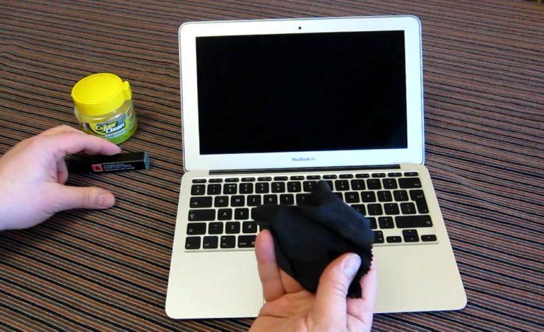 چگونه لپتاپ خود را تمیز کنید