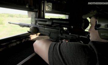 تفنگی با نشانهگیری خودکار