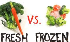 کدام بهتر است یخ زده یا تازه؟