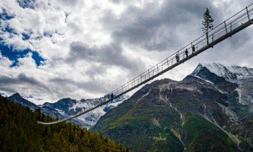 افتتاح بزرگترین پل معلق دنیا