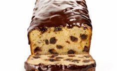 نان موز با روکش شکلات