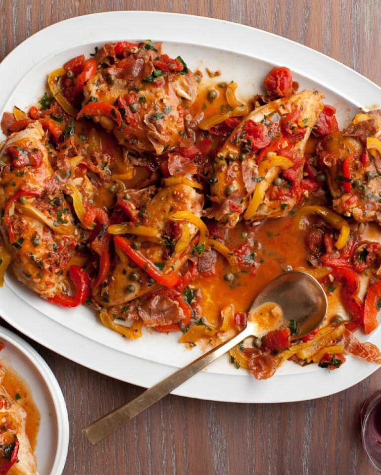 طرز تهیه مرغ به سبک رومی