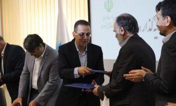 امضای قرار داد فناوری- علمی شاتل با دانشگاه تهران