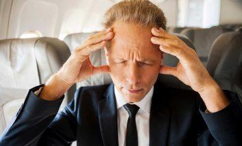 پرواز با هواپیما و خطر سکته