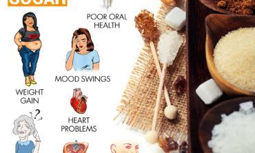 ۸ نشانه مصرف زیاد قند و شیرینی