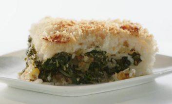 کیک پنیری برنج با سبزیجات
