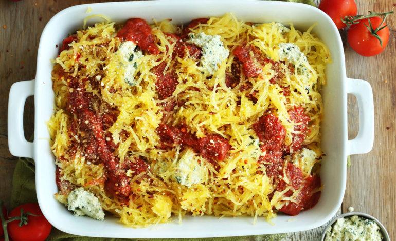 کدوی اسپاگتی با گوشت
