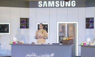 مسابقه آشپزی سامسونگ برگزار شد