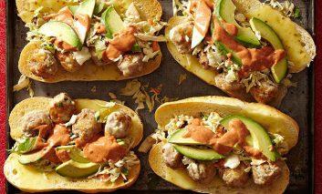 ساندویج گوشت مکزیکی