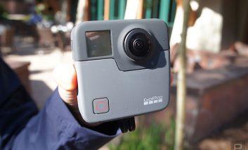 GoPro Fusion دوربین واقعیت مجازی ۳۶۰ درجه با قیمت ۶۹۹ دلار
