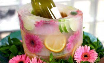 جایخی میوهای برای مهمانیها بسازید!