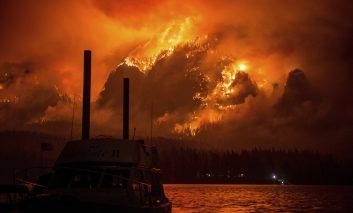بزرگترین آتشسوزی در تاریخ لسآنجلس
