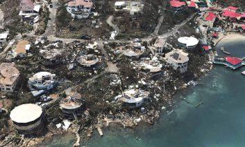 گزارش تصویری: ویرانههای بر جای مانده از طوفان ایرما در کاراییب و ایالات جنوب شرقی امریکا