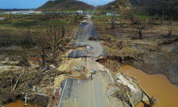 بلای آسمانی تفرقهافکن؛ تصاویری از پرتوریکوی ویرانشده
