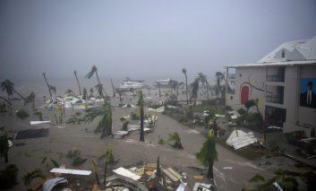 طوفان ایرما سنت مارتین را در هم کوبید