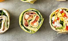 لقمههای املتِ ژامبون و سبزیجات