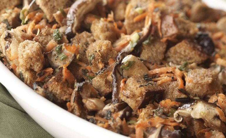 خوراک قارچ و هویج
