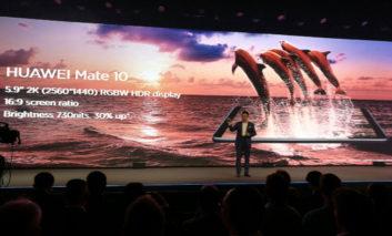 تکنولوژی RGBW در صفحه نمایش FullView گوشی HUAWEI Mate 10