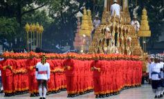 مراسم خداحافظی با پادشاه تایلند