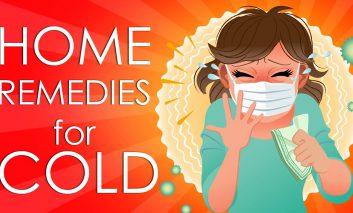۱۰ درمان خانگی برای سرماخوردگی و آنفولانزا