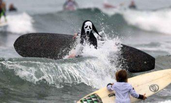 گزارش تصویری: مراسم هیجانانگیز هالووین در گوشه و کنار دنیا