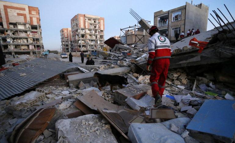 گزارش تصویری: زلزله شدید غرب ایران، تمام ایران را داغدار کرد