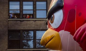 رژه روز شکرگزاری فروشگاههای زنجیرهای مِیسیز در امریکا