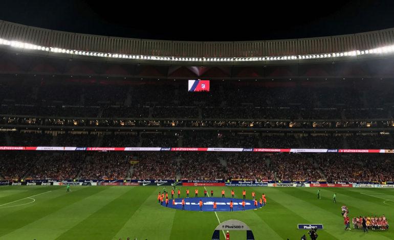 نمایشگرهای شهری الجی در استادیوم Wanda Metropolitano