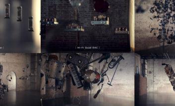 گوشی V30 در قالب گالری Kinetic Art  (هنر حرکتی)