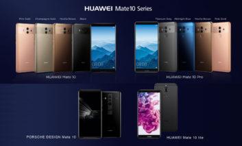 رونمایی HUAWEI Mate 10 در هفته تکنولوژی هوش مصنوعی هوآوی