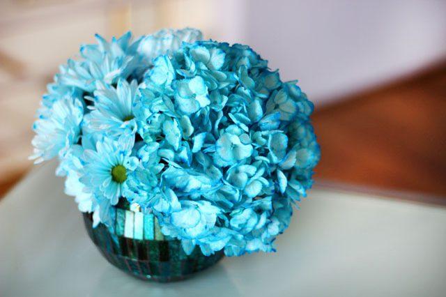 چه طور گلها را هر رنگی که میخواهیم درآوریم؟