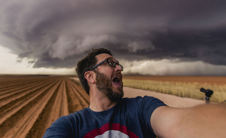 در تعقیب طوفان یا دردسر؟!