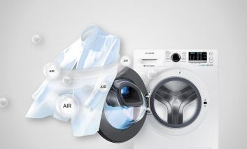 نگاهی به قابلیتهای ماشین لباسشویی جدید سامسونگ