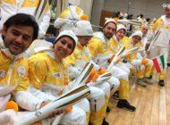 نمایندگان ایران مشعل المپیک زمستانی را حمل کردند