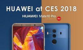 دستاوردهای هوآوی در نمایشگاه CES 2018