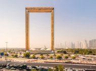 جاذبه گردشگری جدید دوبی؛ یک قاب عکس غولپیکر طلایی و درخشنده