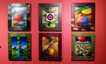 نمایشگاه آثار علیاکبر صادقی با حمایت سامسونگ افتتاح شد
