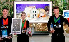 شرکت الجی مفتخر به کسب عنوان بهترین تلویزیونOLED  هوش مصنوعی در نمایشگاه CES 2018 شد