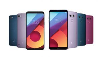 V30،G6 و Q6 الجی در رنگهای جدید و متفاوت