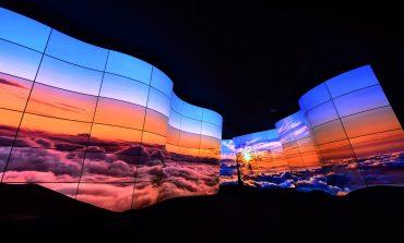 Grand Canyon ساخته شده با پنلهای OLED الجی در CES 2018
