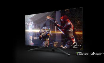 بزرگترین نمایشگر گیمینگ با پنل ۶۵ اینچی توسط ایسوس معرفی شد