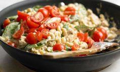 طرز تهیه مرغ، ماکارونی و پنیر