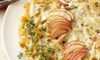 پنهپای سیب و پنیر چدار