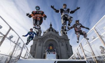 جنون در سراشیبی: مسابقات اسکیت روی یخ