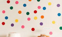 یک طرح ساده برای زیبا کردن دیوار خانه