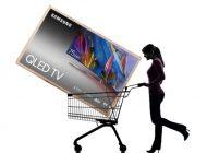 سهم سامسونگ از بازار تلویزیونهای بزرگ بیش از مجموع سهم دو برند بعدی است
