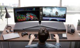 تجربه بینظیر بازی در C49HG90 سامسونگ، بزرگترین مانیتور جهان